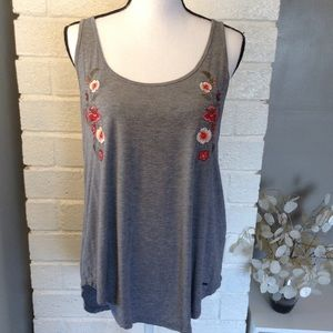 ❤️3/15  Hollister Must Have Collection Tunic Tank